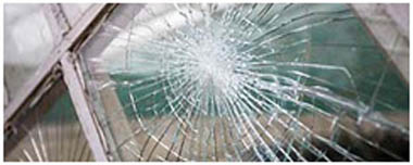 Chafford Hundred Smashed Glass